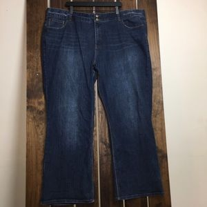Lane Bryant 28R High Rise Boot Jeans